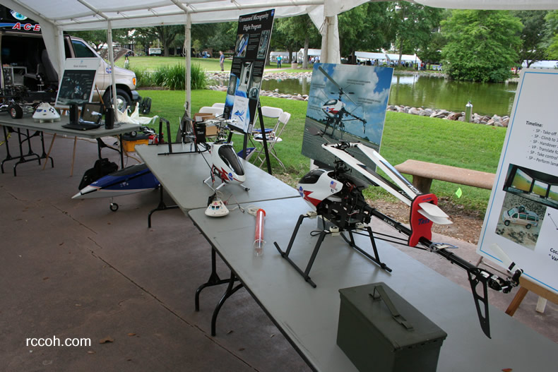NASA RC Helicopters