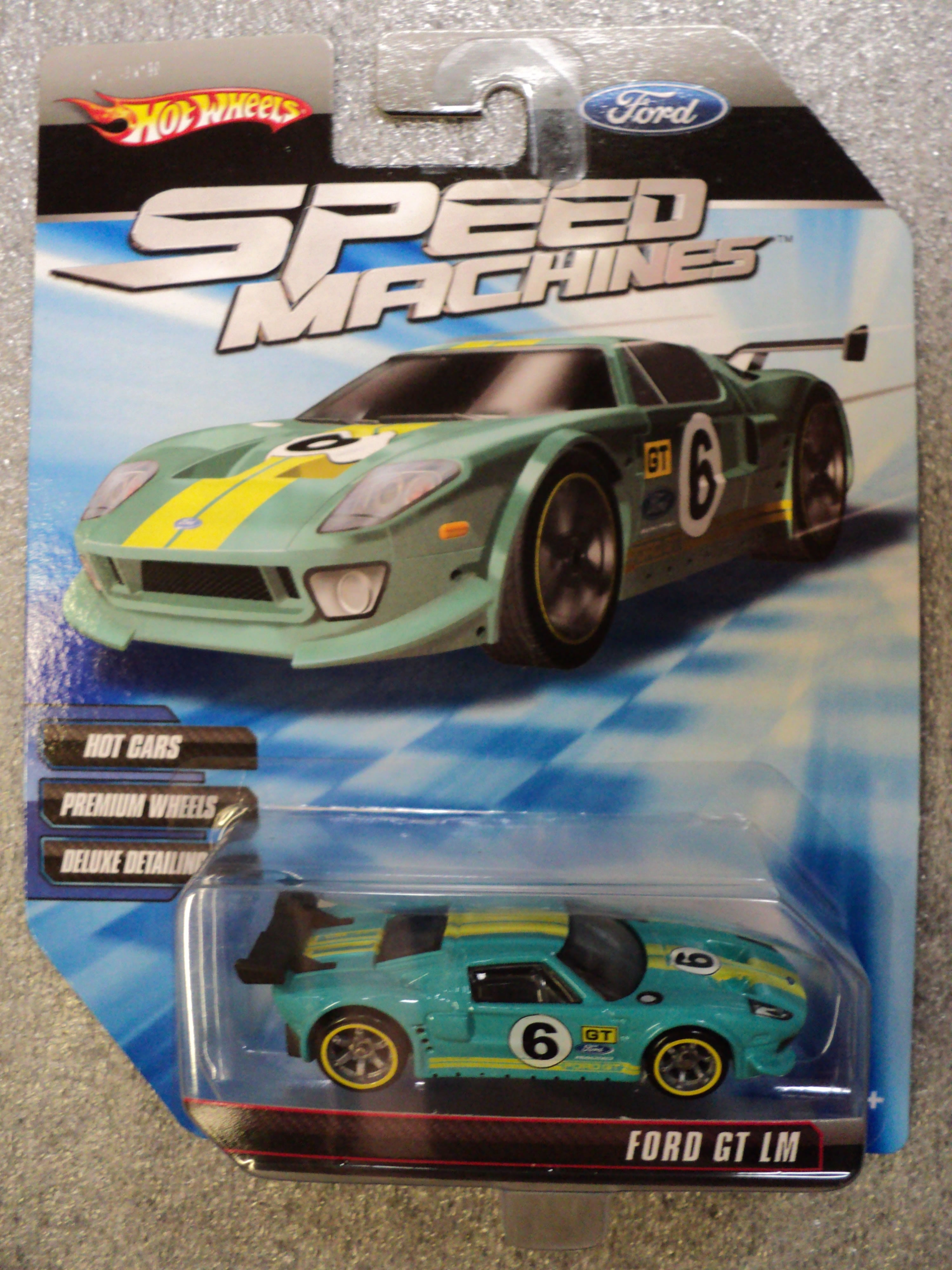 Ford Gt Lm Turquoise