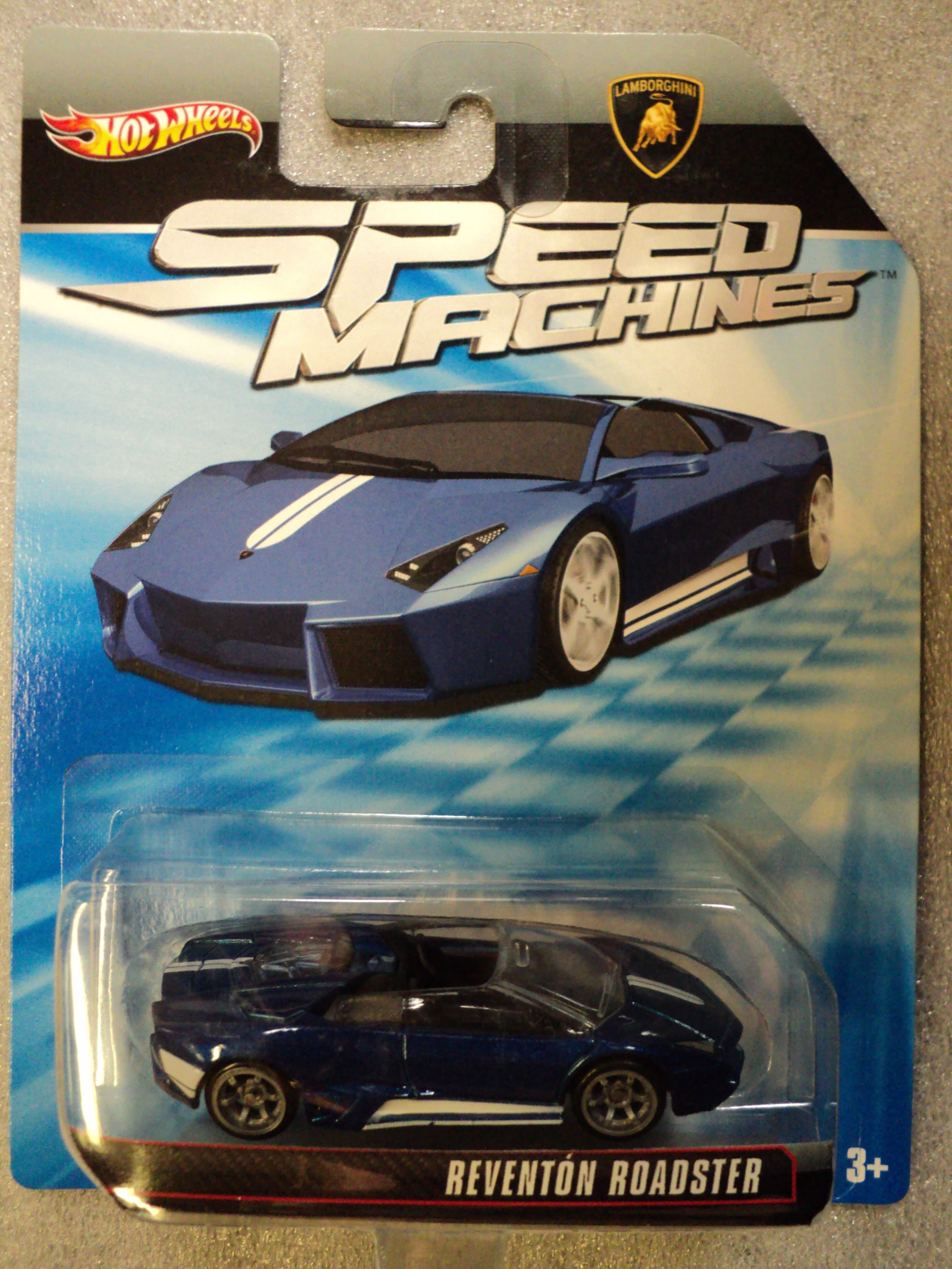 Hot Wheels 2010 Speed Machines Lamborghini Reventon Roadster