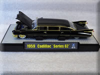 M2 1959 Cadillac Stretch Rod Ebony Black Chase