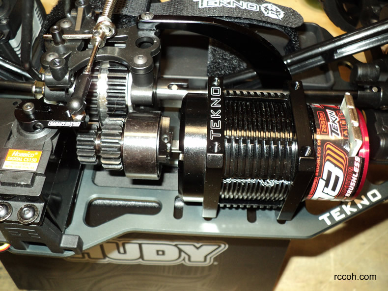 Rc How To Ofna Dm 1 Spec Nitro To Brushless Conversion 6