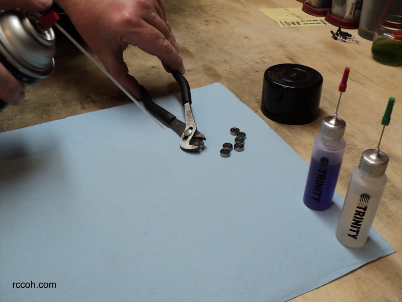 how to take out bearings