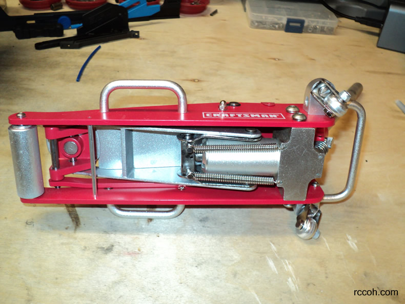 Rc Tools And Tips Craftsman Mini Racing Floor Jack Rccoh