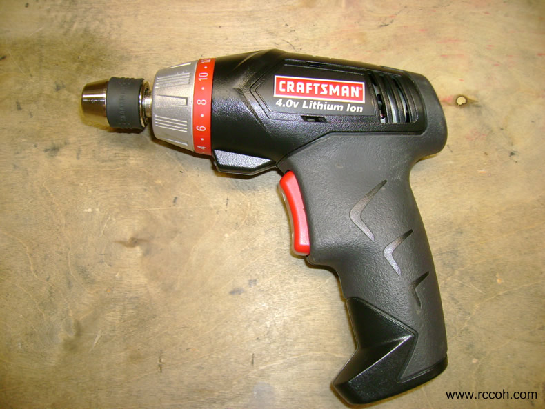 Craftsman Model 11398 Cordless Screwdriver