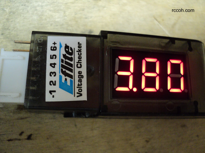 Voltage Cell Checker / Meter